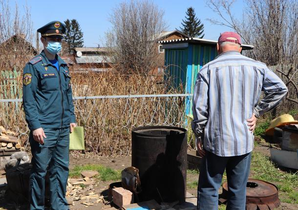 Противопожарные рейды МЧС проводятся в Тольятти