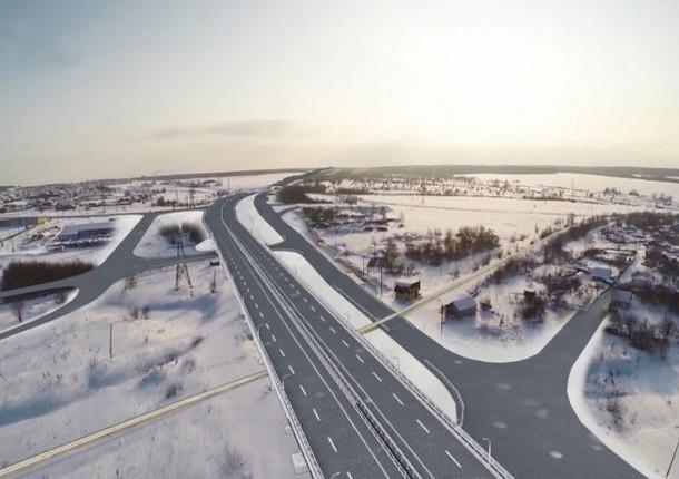 На трассе М-5 под Тольятти возведут путепровод через железную дорогу
